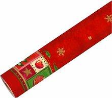 Tischdecke aus stoffähnlichem Vlies Airlaid Christmas Accents
