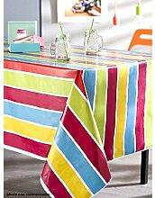 Tischdecke aus Wachstuch 140x 200Imperia Neon Tonic