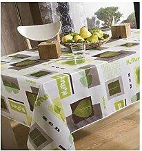 Tischdecke aus Wachstuch 140x 250cm Nature Zen