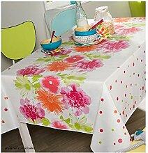Tischdecke aus Wachstuch RUND 140cm Florelia