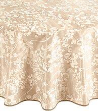Tischdecke B/L: 1/80 cm x braun Tischdecken