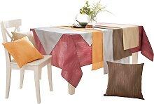 Tischdecke B/L: 3/110 cm x braun Tischdecken