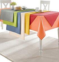 Tischdecke B/L: 80 cm x braun Tischdecken