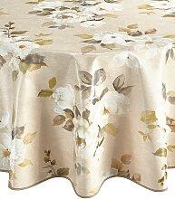 Tischdecke B/L: 80 cm x cm, Mitteldecke braun