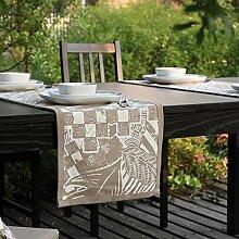 Tischdecke baumwolle gedruckt tischdecke home