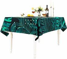 Tischdecke Baumwolle Leinen Rechteckige Esstisch