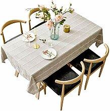 Tischdecke Baumwolle Leinen Stoff Mode Modernen