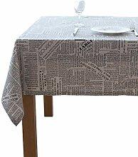Tischdecke,Baumwolle Leinen Tischdecke Kreative