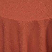 Tischdecke Biella rund, 170 cm (Ø), hellrot, rund