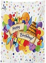 Tischdecke Birthday