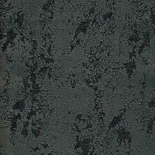 Tischdecke Brilliant Meliert mit Lotus Effekt Rund 140 cm Grau bzw. Anthrazit - Farbe wählbar mit Fleckschutz - (BrM_R140DGrau)