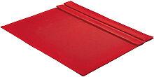 Tischdecke ca. 135 x 220 Textil Rot 135/220 cm