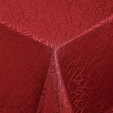 Tischdecke Caorle quadratisch, 80x80cm (BxL), rot,