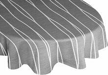 Tischdecke Cassian Perspections Farbe: Grau
