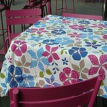 Tischdecke Colour: Blue Pink