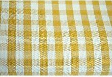 Tischdecke Country Quadrettini - Gelb, Quadratisch 180x180