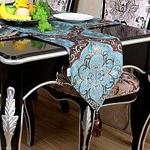 Tischdecke decke/Bett Renner/Tisch/Tischdecke decke/Abdeckung Tuch/Bett Renner-A 30x220cm(12x87inch)