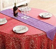 Tischdecke decke/Bett Renner/Tischdecke decke/Abdeckung Tuch/Zierleiste/ Tisch/Tischdecke decke-K 30x180cm(12x71inch)