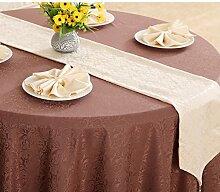 Tischdecke decke/Bett Renner/Tischdecke decke/Abdeckung Tuch/Zierleiste/ Tisch/Tischdecke decke-G 33x240cm(13x94inch)