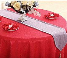 Tischdecke decke/Bett Renner/Tischdecke decke/Abdeckung Tuch/Zierleiste/ Tisch/Tischdecke decke-J 30x180cm(12x71inch)