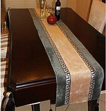 Tischdecke decke/Bett Renner/Tischdecke decke/Abdeckung Tuch/Zierleiste/ Tisch/Tischdecke decke/ Tisch-A 35x220cm(14x87inch)