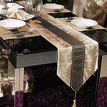 Tischdecke decke/Bett Renner/Tischdecke decke/Abdeckung Tuch/Zierleiste/ Tisch/Tischdecke decke-A 200x30cm(79x12inch)