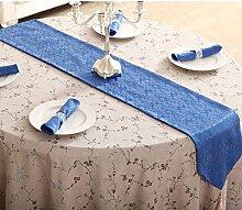 Tischdecke decke/Bett Renner/Tischdecke decke/Abdeckung Tuch/Zierleiste/ Tisch/Tischdecke decke-N 30x180cm(12x71inch)