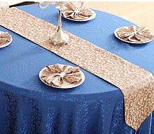 Tischdecke decke/Bett Renner/Tischdecke decke/Abdeckung Tuch/Zierleiste/ Tisch/Tischdecke decke-C 30x210cm(12x83inch)