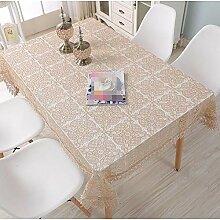 Tischdecke decke Haushalt Perforierte Tischdecke