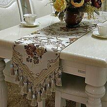 Tischdecke decke/Tisch/Bett Renner/Tisch/Tischdecke decke/Abdeckung Tuch-C 30x180cm(12x71inch)