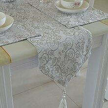 Tischdecke decke/Tisch/Bett Renner/Tischdecke decke/Abdeckung Tuch-A 33x240cm(13x94inch)