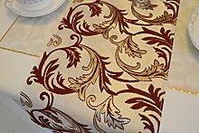 Tischdecke decke/Tisch/Bett Renner/Tischdecke decke/Tischdecke decke/Abdeckung Tuch-A 33x240cm(13x94inch)