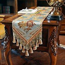 Tischdecke decke/Tisch/Tisch/Bett Renner/Tischdecke decke/Abdeckung Tuch-D 30x220cm(12x87inch)
