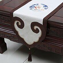 Tischdecke decke/ Tisch/ Tisch/Bett Renner/Tischdecke decke/Abdeckung Tuch/Zierleiste/ Tisch/Tischdecke decke-D 35x180cm(14x71inch)