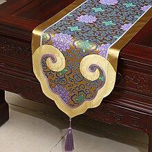 Tischdecke decke/ Tisch/ Tisch/Bett Renner/Tischdecke decke/Abdeckung Tuch/Zierleiste/ Tisch/Tischdecke decke-B 35x200cm(14x79inch)
