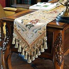Tischdecke decke/Tisch/Tisch/Bett Renner/Tischdecke decke/Abdeckung Tuch-E 30x180cm(12x71inch)