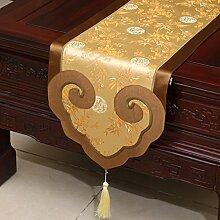 Tischdecke decke/ Tisch/ Tisch/Bett Renner/Tischdecke decke/Abdeckung Tuch/Zierleiste/ Tisch/Tischdecke decke-V 35x200cm(14x79inch)