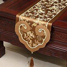Tischdecke decke/ Tisch/ Tisch/Bett Renner/Tischdecke decke/Abdeckung Tuch/Zierleiste/ Tisch/Tischdecke decke-R 35x240cm(14x94inch)