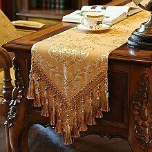 Tischdecke decke/Tisch/Tisch/Bett Renner/Tischdecke decke/Abdeckung Tuch-B 30x180cm(12x71inch)