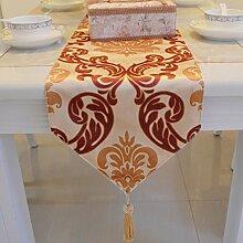 Tischdecke decke/Tisch/Tisch/Tischdecke decke/Bett Renner/Tischdecke decke/Abdeckung Tuch/Stoffe-A 30x220cm(12x87inch)