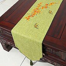 Tischdecke decke/Tischdecke decke/Bett Renner/Tischdecke decke/Abdeckung Tuch/Zierleiste/ Tisch/Tischdecke decke-C 33x200cm(13x79inch)