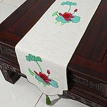 Tischdecke decke/Tischdecke decke/Bett Renner/Tischdecke decke/Abdeckung Tuch/Zierleiste/ Tisch/Tischdecke decke-H 33x150cm(13x59inch)