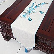 Tischdecke decke/Tischdecke decke/Bett Renner/Tischdecke decke/Abdeckung Tuch/Zierleiste/ Tisch/Tischdecke decke-B 33x300cm(13x118inch)