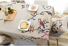 Tischdecke Dicke Baumwolle Leinen Tischdecke