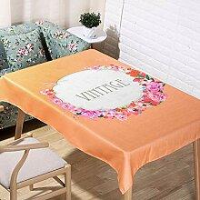 Tischdecke, Duftende Elegante Girlande Tischdecke