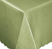 Tischdecke eckig 110x180 cm Phase Struktur Tafeltuch bügelfrei fleckenabweisend #1249 (lindgrün)