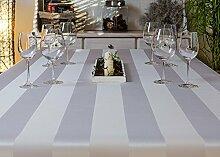 TISCHDECKE eckig teflonbeschichtet, pflegeleicht in Designs:Mailand Farbe: weiß Maß: 140x265