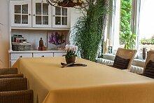 TISCHDECKE eckig teflonbeschichtet, pflegeleicht in Designs:Rustika Farbe: gelb Maß: 150x200