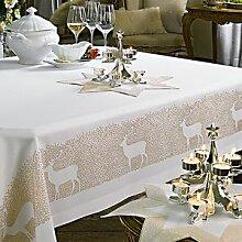 Tischdecke: Ein klassisches Motiv in moderner