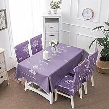 Tischdecke einfach staubdicht zu Hause Tischdecke